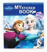 【金玉堂文具】迪士尼 Disney 冰雪奇緣Frozen 趣味方形貼紙書C606811