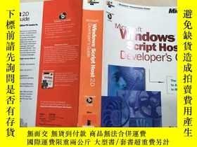 二手書博民逛書店英文原版罕見Microsoft Windows Script H