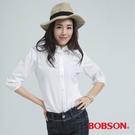 BOBSON 刺繡襯衫(白色25139-81)