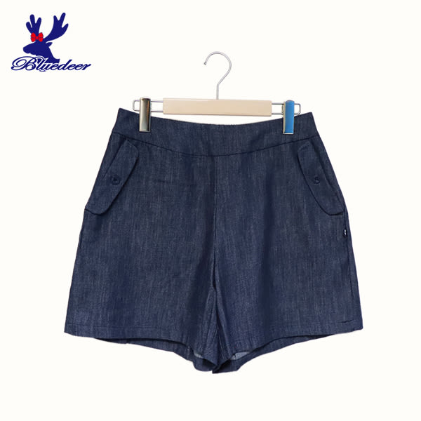 American Bluedeer-牛仔口袋短褲(魅力價) 春夏新款