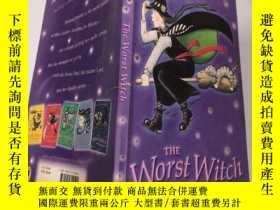 二手書博民逛書店the罕見worst witch 最壞的女巫.Y200392