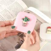 盒女款韓國風可愛簡約雙聯收納盒眼睛伴侶盒美瞳盒子【中秋節85折】