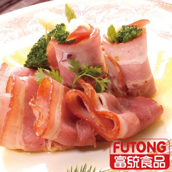 【富統食品】A級培根600g(約20片)