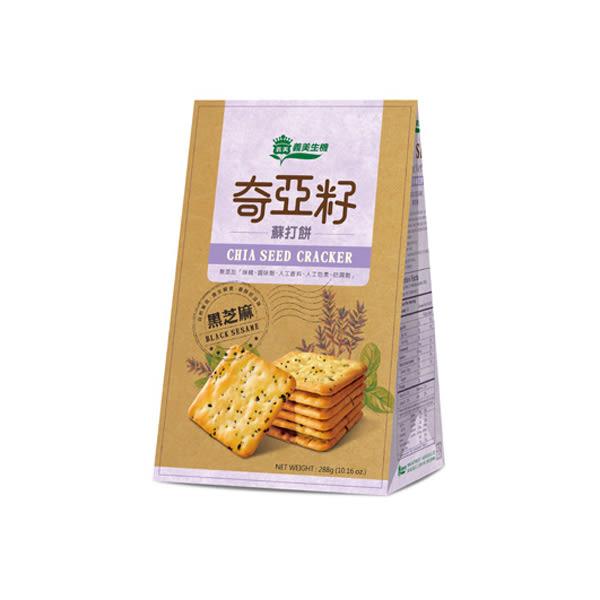 義美生機-奇亞籽蘇打餅288g/袋