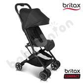 Britax - Compact 單手收摺疊登機車 全黑