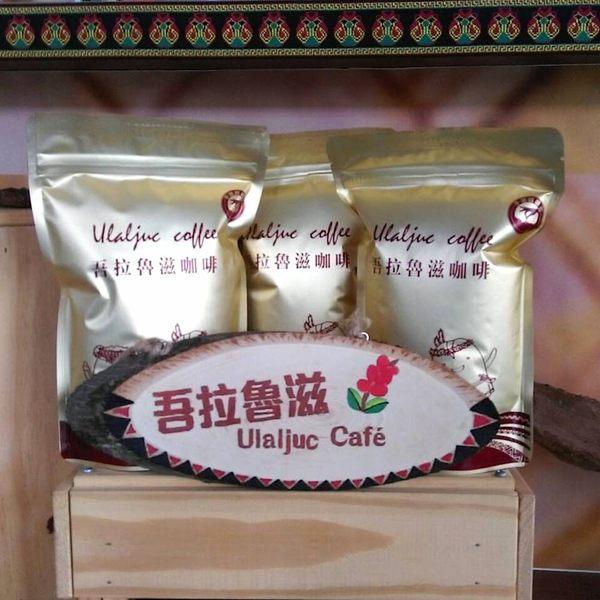 【泰武咖啡】吾拉魯滋中深焙咖啡豆3包 (每包約225g)(含運)