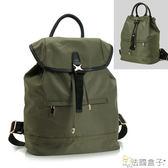 後背包-法國盒子.輕量流行前線後背包(墨綠)FF89