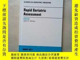 二手書博民逛書店clinics罕見in geriatric medicine 老