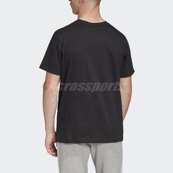 adidas 短T Multi Fade Sp Tee 黑 黃 T恤 短袖上衣 男款 【ACS】 FM3341