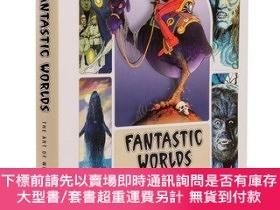 全新書博民逛書店預售奇幻世界威廉斯托特的藝術精裝FantasticWorlds: The Art of William Stout