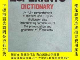 二手書博民逛書店CONCISE罕見ESPERANTO AND ENGLISH DICTIONARYY351366 J.C.We