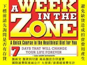 二手書博民逛書店A罕見Week In The ZoneY364682 Barry Sears Collins Living