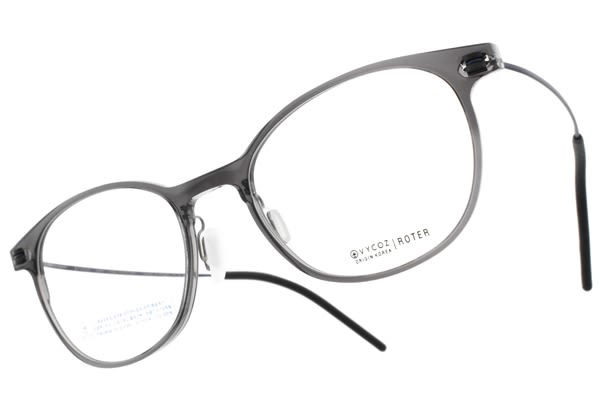 VYCOZ 光學眼鏡 ROTER GRY-BL (透灰-藍) 植萃環保簡約鏡框 # 金橘眼鏡