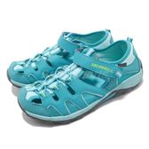 Merrell 戶外鞋 Hydro H20 Hiker 運動鞋 越野 登山 藍 灰 休閒鞋 涼拖鞋 大童鞋 女鞋【PUMP306】 MY56509