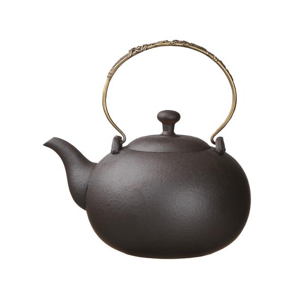 月泉燒水壺-(1600ml) 茶壺 煮茶器 陶瓷燒水壺 泡茶 大容量 燒水茶壺