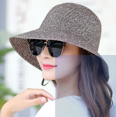 [協貿國際]  女士夏天可折疊遮陽帽 (1入)