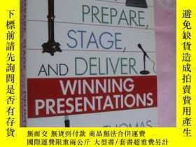 二手書博民逛書店How罕見to prepare, stage and deliv