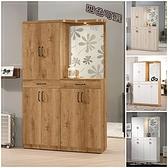 【水晶晶家具/傢俱首選】JM1841-2 費利斯4X6.5尺低甲醇玄關屏風鞋櫃~~四色可選