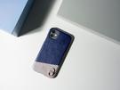 Alto iPhone 11 真皮手機殼背蓋 6.1吋 Anello - 海軍藍 皮革保護套
