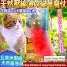 【培菓平價寵物網】美國CosmicCatnip宇宙貓 》100%全天然壓縮薄荷貓草玩具魔杖-蛇行貓