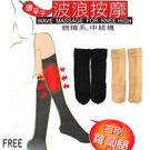 【衣襪酷】唐辛子 波浪按摩 燃燒系 中統襪 台灣製 蒂巴蕾