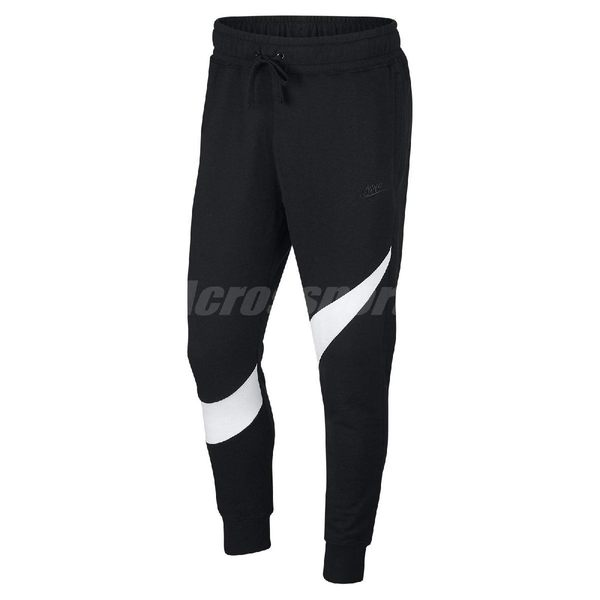 Nike 長褲 Sportswear Men's French Terry Trousers 黑 白 男款 棉褲 【PUMP306】 AR3087-010