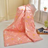 『初涼首選』義大利Fancy Belle X Malis《小飛馬-粉紅》純棉吸濕透氣涼被(5x6.5尺)MIT