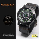 【完全計時】手錶館│BAKLY 瑞士機芯 輕量 飛行款 經典不敗 BA9022-3 新品 真小牛皮 加厚款