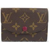 Louis Vuitton LV M41939 Rosalie 經典花紋信用卡零錢包 全新 預購