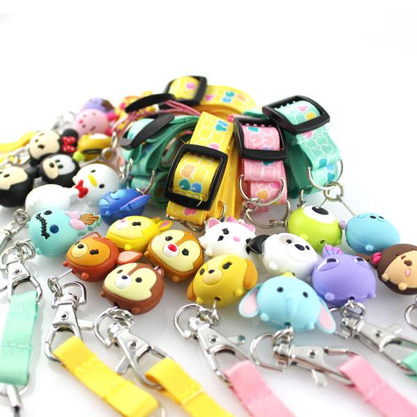 【Disney】TSUM TSUM 造型手機袋吊繩/識別證帶