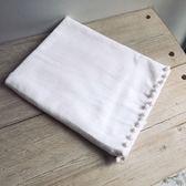 MATHILDE M.純棉嬰兒浴巾玫瑰粉紅