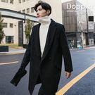 長版大衣 韓系兩釦毛呢保暖外套 大衣 預購 【TJC1802】