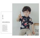 兒童POLO衫男童夏裝短袖T恤小孩半袖翻領上衣寶寶韓版潮個性襯衫