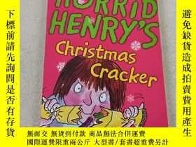 二手書博民逛書店HORRID罕見HENRY S christmas Cracker:可怕的亨利聖誕餅幹Y212829