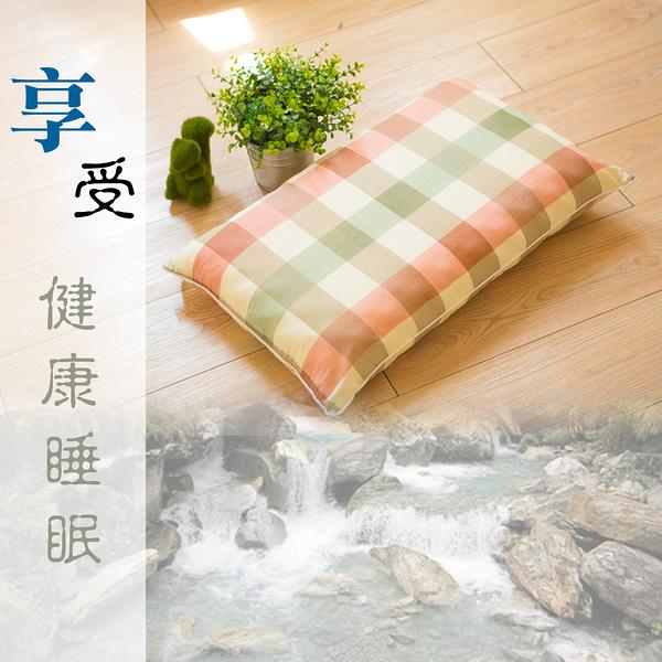 健康淹水石枕.雙面設計.四季均可享受健康睡眠.全程臺灣製造【名流寢飾家居館】