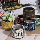 歐式復古工業風水泥煙灰缸美式客廳酒吧咖啡廳創意個性擺件裝飾品 范思蓮恩