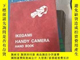 二手書博民逛書店IKEGAMI罕見HANDY CAMERA HAND BOOKY