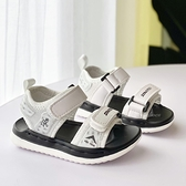 《7+1童鞋》STARTER 輕量運動防水涼鞋 E171 白色