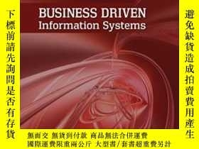 二手書博民逛書店Business罕見Driven Information Systems-業務驅動的信息系統Y436638 P