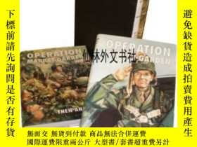 二手書博民逛書店【罕見】2002年出版 Operation Market-garden Then And NowY27248