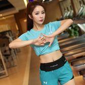 水兵舞專用大號腰包男女戶外運動防水腰包6寸手機跑步健身腰包