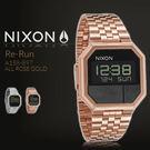 NIXON THE RE-RUN 38mm/男女兼用/電子錶/玫瑰金/A158-897 現+排單 熱賣中!