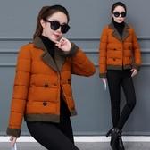 棉衣女短款韓版2020新款冬季外套時尚百搭小棉襖加厚保暖羽絨棉服