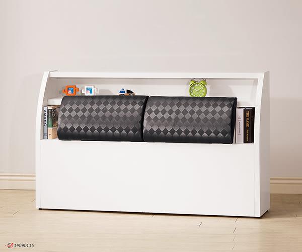 【南洋風休閒傢俱】床組/床頭片/床頭櫃系列 -乳膠皮雙人加大床箱  收納式床箱  6尺床箱(JH191-4)