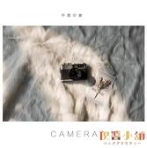 北歐拍照攝影長毛布美甲化妝飾品擺件拍照毛毯背景【倪醬小舖】