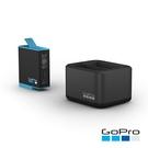 【GoPro】 雙電池充電器(含一顆電池...