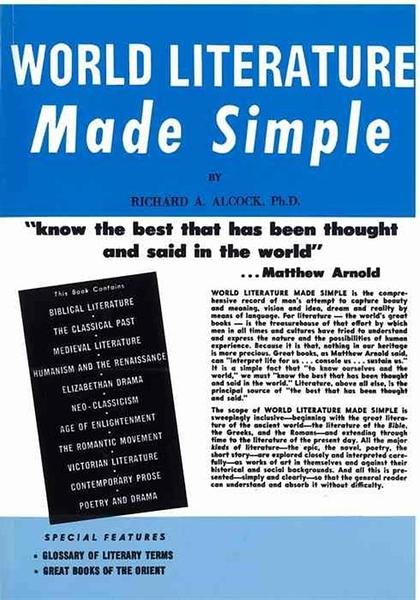 (二手書)World Literature Made Simple