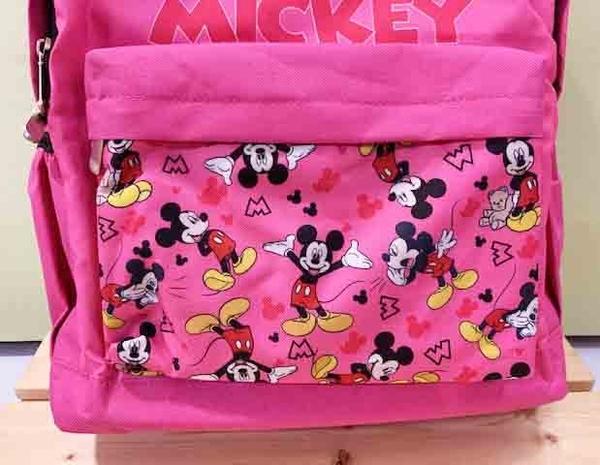 【震撼精品百貨】Micky Mouse_米奇/米妮 ~後背包~桃粉#00130