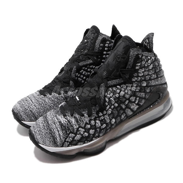 Nike 籃球鞋 LeBron XVII EP IN THE ARENA 黑 白 男鞋 運動鞋 LBJ 17代 詹姆斯 大氣墊 【PUMP306】 BQ3178-002