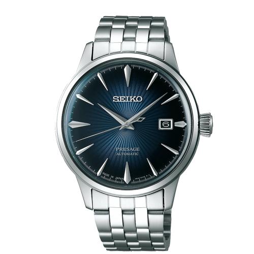 SEIKO PRESAGE 紳士品味機械腕錶4R35-01T0A/SRPB41J1